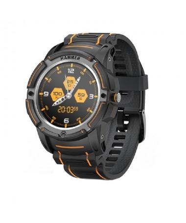 p ph2HAMMER Watch h2pEl reloj HAMMER con GPS es el primer smartwatch reforzado de la emblematica marca HAMMER Fue creado para u