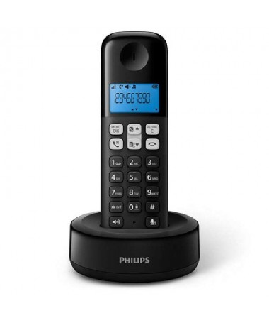 ph2Manten la sencillez h2pEl telefono inalambrico D161 de Philips ofrece funciones esenciales en un diseno nuevo y atractivo Co