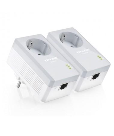 El TL PA4010PKIT aprovecha la instalacion electrica de su casa para transmitir datos a alta velocidad al mismo tiempo que la en