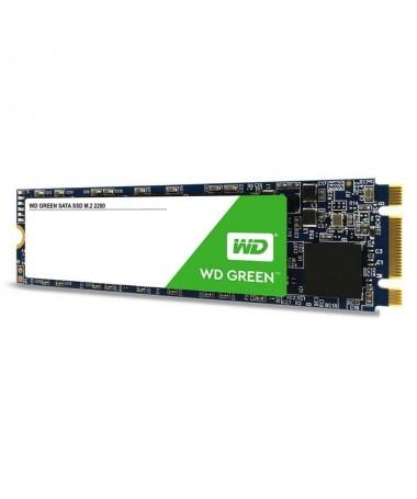 pul liWD Green SSD M2 2280 liliInterface SATA III 6 Gb s li liLectura secuencial hasta 545MB s li liMTTF Hasta 10M horas li liD