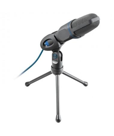 pMicrofono USB con prestaciones de estudio de gran rendimiento dotado de tripode funciona con conexiones de 35 mm y USBbrul liC