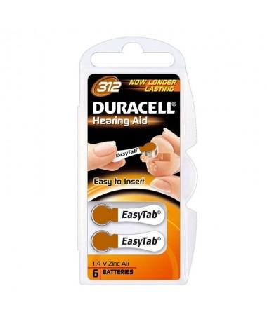 PPila Duracell de 14V para audifonos Se presenta en un paquete de 6 pilas Estas pilas tienen Easytabs para facilitar su colocac