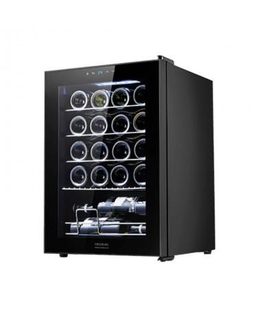 h2GrandSommelier 20000 Black Compressor h2pulliVinoteca de 20 botellas de capacidad con compresor  que garantiza un alto rendim