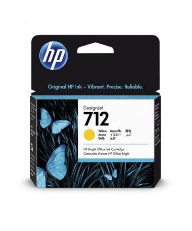 pul liCartucho de tinta HP 712 original li liColor amarillo liliCapacidad 29 ml li libCompatible con b liliImpresora HP DesignJ