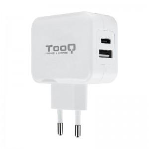 p pp pdivGracias a la salida de 27W este cargador de pared puede cargar simultaneamente dos dispositivos USB A y USB Cbr divdiv
