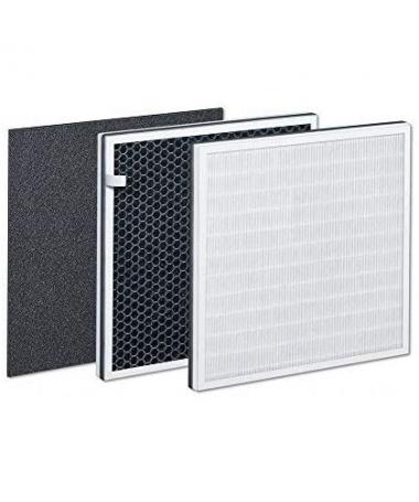 ULLILimpieza del aire mediante un sistema de filtrado de 3 capas LILIContiene LIULLIPre filtro LILICombinacion de filtros filtr