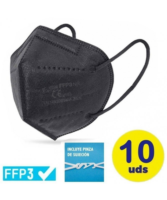 pMascarilla ultra PLUS proteccion FFP3 color blancobrul liPresentacion en bolsa individual con cierre hermetico li liIncluye pi