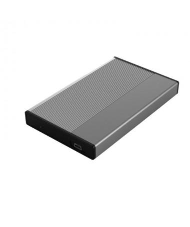 p ppLa carcasa de disco duro de 258221 USB HDD25GY21 3GO es un funcional adaptador para poder conectar sus discos duros a su PC