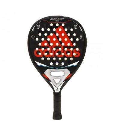 pLa pala de padel ADIDAS Vortom Soft Lite Red es ideal para los jugadores que cuentan con un nivel de juego avanzado hasta prof