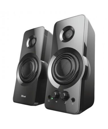 pJuego de altavoces estereo con sonido de calidad para PC y portatilesbrul liConjunto de altavoces con sonido de calidad 18 W R