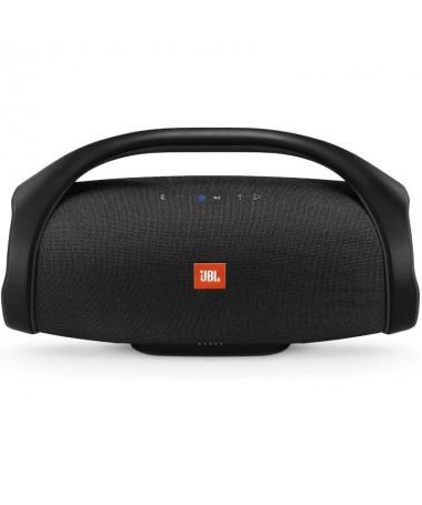 h2Sonido epico Durante todo el dia h2pEl modelo JBL Boombox disenado como el altavoz Bluetooth portatil mas potente ofrece un s