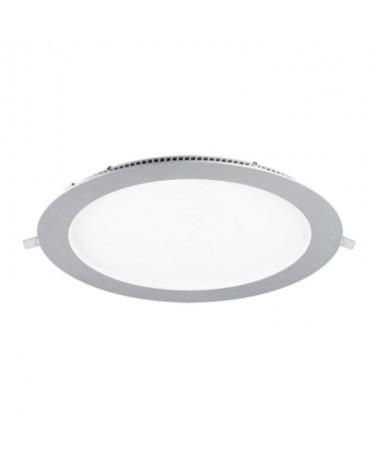pDownlight fabricado en aluminio y policarbonato ennbspblanco Cuenta con un LED SAN AN SMD 2835 unas medidas exteriores de Ø22