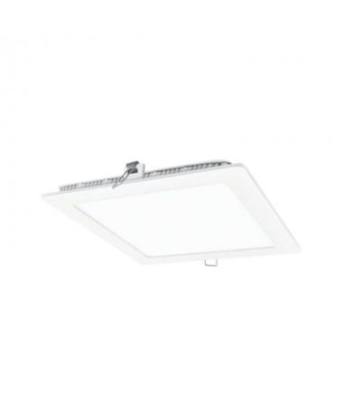 p pp ppDownlight fabricado en aluminio y policarbonato en blanco Cuenta con un LED SAN AN SMD 2835 unas medidas exteriores de 2