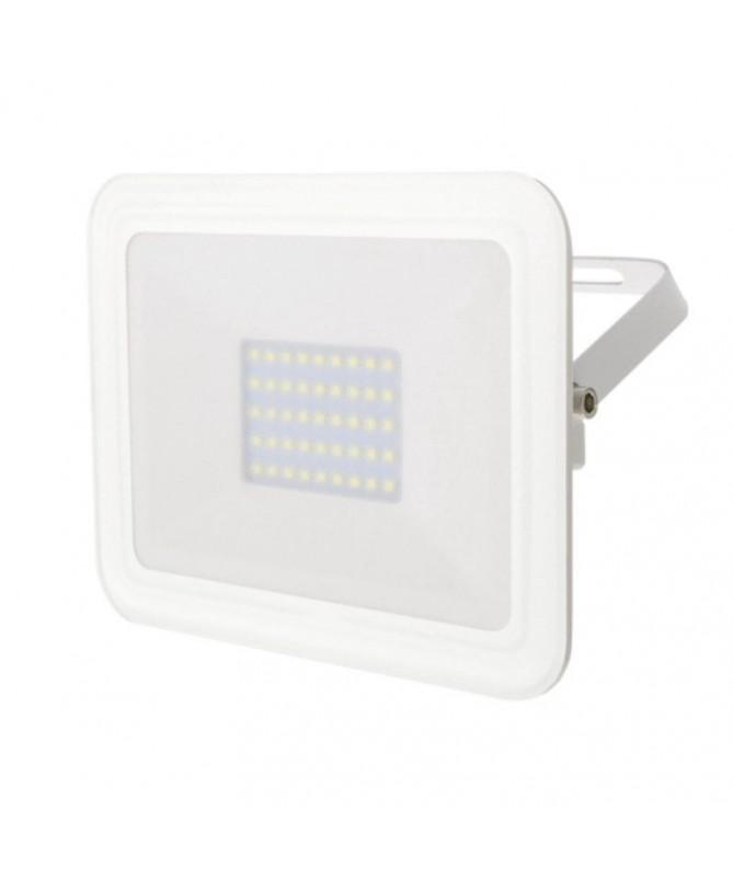 p ppProyector LED SMD con una potencia de 30W 1800 lumenesnbsp5500ºK luznbspfria fabricado en aluminio lacado en blanco Cuenta
