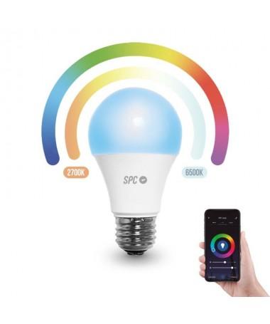 ph2PERSONALIZA EL AMBIENTE h2Ponle color y calor a tu dia8230 y a tu casa Con la bombilla inteligente Aura 3 en 1 a traves de l