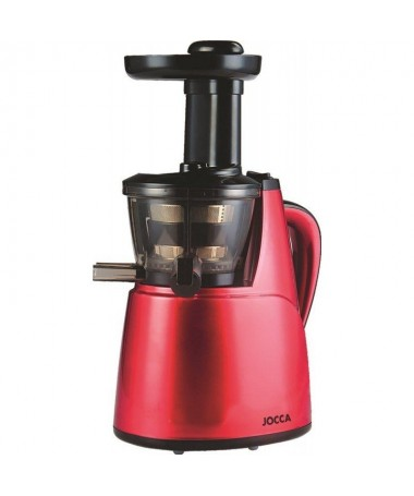 pLa licuadora de prensado en frio vertical de Jocca tiene capacidad para manipular y sacar el mejor zumo de cualquier tipo de v