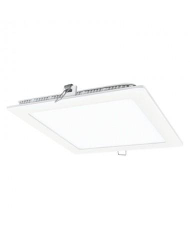ppDownlight fabricado en aluminio y policarbonato ennbspblanco Cuenta con un LED SAN AN SMD 2835 unas medidas exteriores de 225