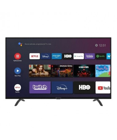 pul liSmart TV con sistema Android TV8482 9 Pie Certificado li liLongitud diagonal 43 109 cm li liResolucion UHD 4K 3840 x 2160