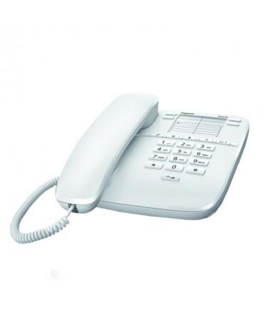 ph2El telefono de sobremesa con cable estandar h2Hacer y recibir llamadas es muy sencillo con el DA310 de Gigaset Las 4 teclas