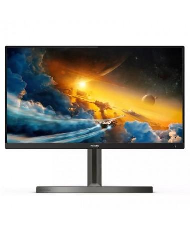 ph2Juegos de consola a un nuevo nivel h2Mejora tu experiencia con el monitor para juegos 4K UHD Momentum con Ambiglow El tiempo