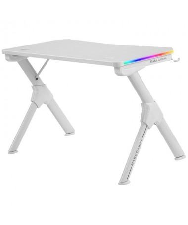 p ppMesa gaming con iluminacion RGB y mando de control remotobrDiseno ergonomico y estructura de acero solida y resistentebrSup