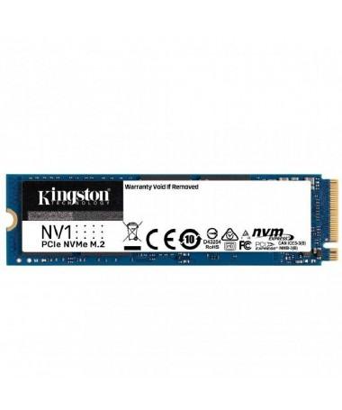 p ppEl disco SSD PCIe NVMe8482 NV1 de Kingston es un solucion para el almacenamiento sustancial que ofrece velocidades de lectu