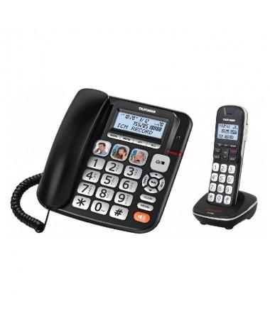 ppTelefono Fijo y supletorio inalambrico ph2TF 952 COSI COMBO h2pUn combo que reune todas las ventajas de un telefono fijo y de