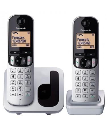 pPack duo de telefono inalambrico DECT simple y compacto 1 terminal con base y un terminal supletoriobrh2Pantalla Facil de leer