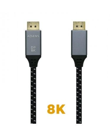 pul liCable DISPLAYPORT V14 8K con conector DP macho 20 Pines en ambos extremos li liTodo el cable esta mallado y la carcasa de