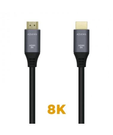 pul liCable HDMI V21 ultra alta velocidad con Ethernet con conector tipo A macho en ambos extremos li liConectores HDMI de alta