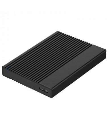 ppAISENS 8211 Caja externa de aluminio para discos duros de 258243 SATA I II y III de hasta 95mm de alto compacto y de facil in