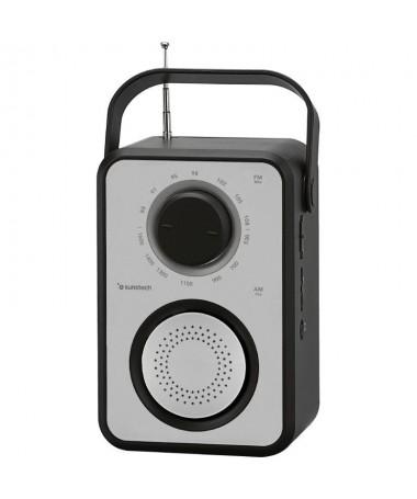 ph2RPR1170 h2Radio multifuncion portatil con puerto USB lector de tarjetas y conexion para auriculares Gracias a sus 3W RMS y a
