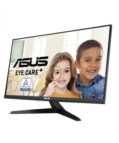 pEl monitor ASUS Eye Care ASUS VY279HE esta disenado pensando en tu salud Cuenta con la nueva tecnologia ASUS Eye Care Plus un