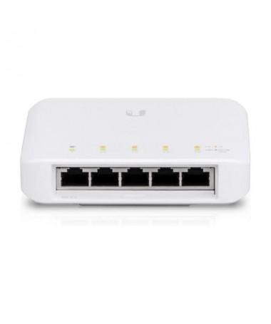 ppSwitch PoE administrado de 5 puertos con 1 puerto de entrada 8023at bt PoE PoE y 4 puertos Gigabit Ethernet 8023af PoE ppCons