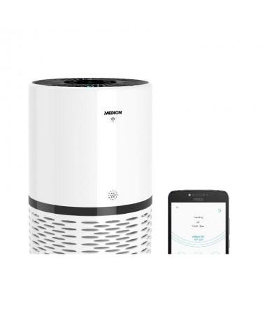 ph2strongMejore la calidad del aire strong h2divCon este purificador de aire de MEDION podra volver a respirar libremente en ca