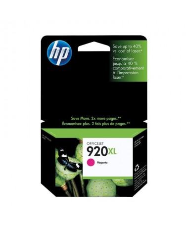 Los cartuchos de tinta magenta HP 920XL imprimen documentosprofesionales a color con un coste inferior al laser contintas HP Of