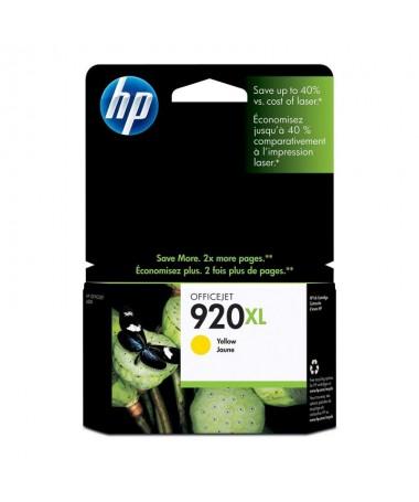 Los cartuchos de tinta amarillo HP 920XL imprimen documentosprofesionales a color con un coste inferior al laser contintas HP O