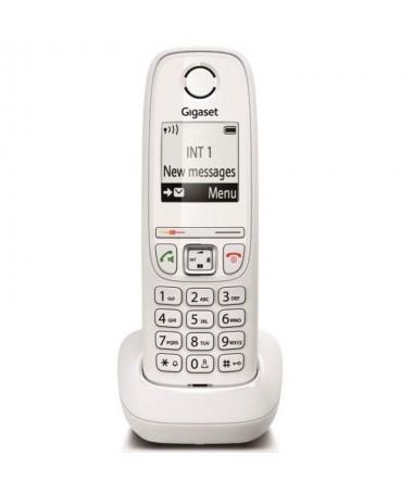 pEl AS405 Gigaset es un telefono economico que dispone de las caracteristicas esenciales una gran pantalla monocromo con ilumin