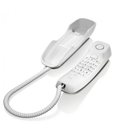 p pp pEl Gigaset DA210 es compacto con cable sencillo ideal para llamadas basicas en casa o en la oficina Montable en pared par