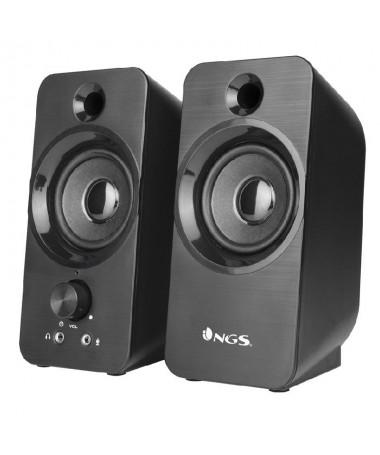 pulliAltavoz para PC Sonido nitido y potente 12 W de maxima potencia liliSonido estereo intenso los altavoces multimedia propor