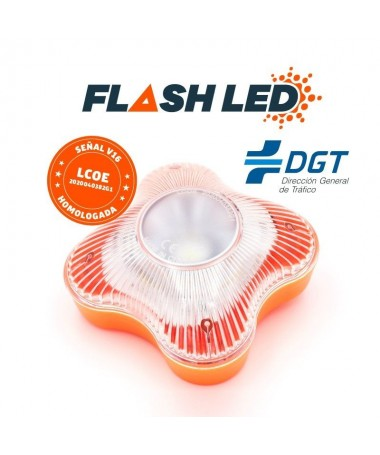 ph2Por que sustituir el triangulo de emergencia por FlashLED h2brFlashLED es la nueva luz de senalizacion de averias y accident