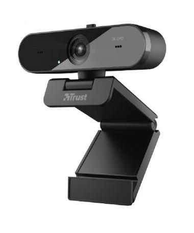 pWebcam 2K QHD de alta calidad con enfoque automatico microfonos duales y filtro de privacidadbr pp ph2Llamadas con sonido y vi