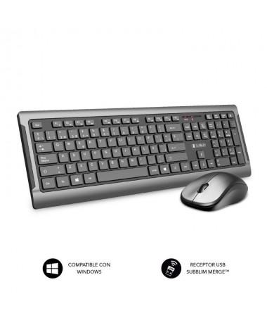 pCon la combinacion de teclado y raton inalambrica de Subblim Premium Silence Ultra Slim crearas un espacio Minimalista Elegant