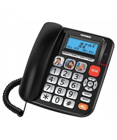 ph2Sencillo comodo y elegante h2pUn telefono fijo que aporta confort y facilidad de uso con teclas extragrandesnbspindicador lu