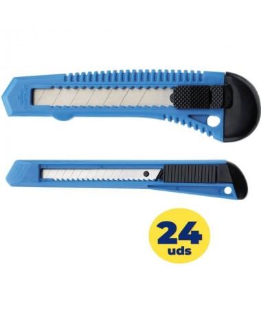 p ph2Cutter Office Westcott h2p pulliCutter con cuerpo de plastico liliDisponible para cuchillas de 18 mm ref73 58 40 03 liliPr