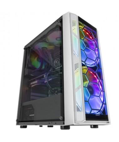 p ph2SEMITORRE GAMING MC500 h2Refrigeracion extrema gracias a sus 2 ventiladores XXL de 18cm y su frontal mesh espectacular ilu