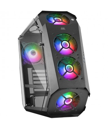 ph2TORRE GAMING PREMIUM MC51 h2Diseno vanguardista y una refrigeracion extrema Con sus 5 ventiladores de 120 mm CHROMA RGB prei