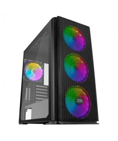 ph2TORRE XL GAMING PREMIUM MCPRO h2pMaxima capacidad XL E ATX y refrigeracion insuperable Con sus 4 ventiladores extra grandes