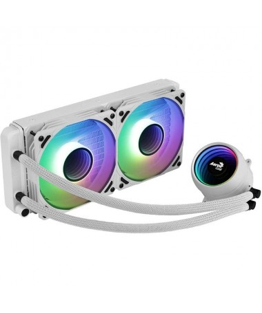 h2Refrigeracion Liquida ARGB 240MM h2pRefrigeracion liquida de alto rendimiento con diseno Infinity Mirror RGB para ofrecer una