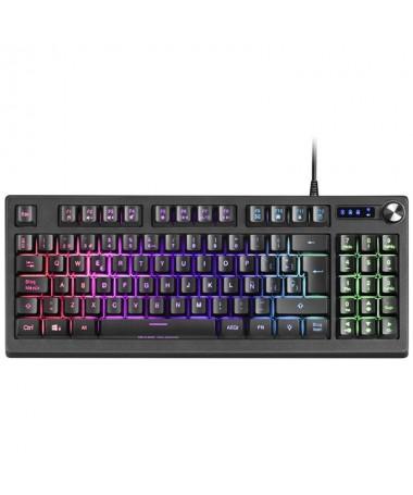 ph2TECLADO GAMING MKREVO h2El teclado MKREVO ha llegado para romper radicalmente con los estandares del mercado Te atrae el tam
